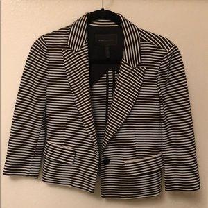 BCBG Striped Blazer
